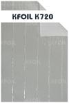 (K720) D/S Reflective Aluminium Paper Foil, Polyester Yarn Reinforced Paper Foil Industrial Packaging