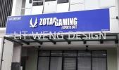 ZOTAC Gaming Esports Cafe (Bandar Sunway) Stainless Steel Signage
