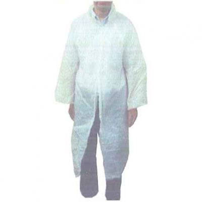 Plastic Disposable Lab / Visitor Coat