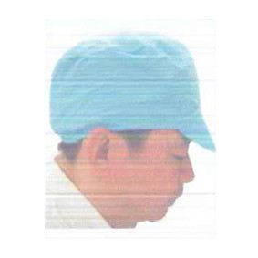 Cleanroom ESD Cap with Soft Visor