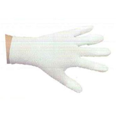Nylon Top Fit Gloves (PU Coating on Fingers)