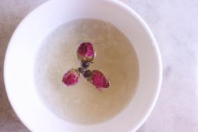 Stewed Bird Nest w/ Rose