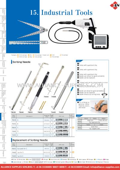 10.15.1 Scribing Needle