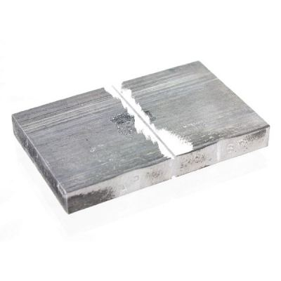 Cracked Aluminium Block