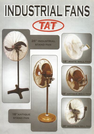 TAT INDUSTRIAL STAND & INDUSTRIAL WALL FAN