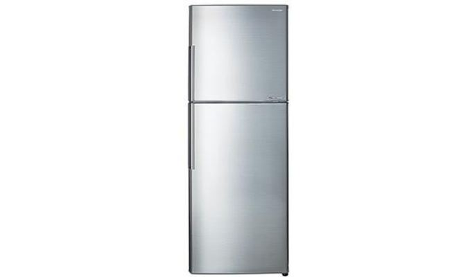 SHARP 360L 2 DOOR REFRIGERATOR SJ366MSS