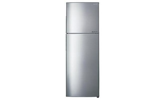 SHARP 320L 2 DOOR REFRIGERATOR SJ326MSS