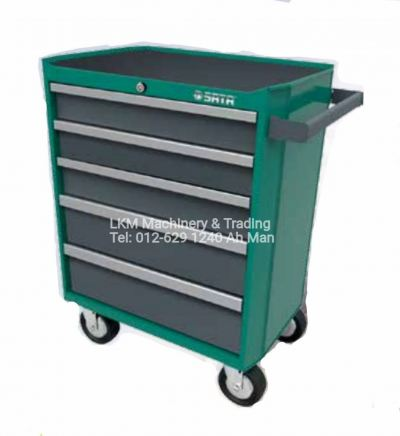 Sata 5 Drawer Trolley / Tools Cabinet 95121