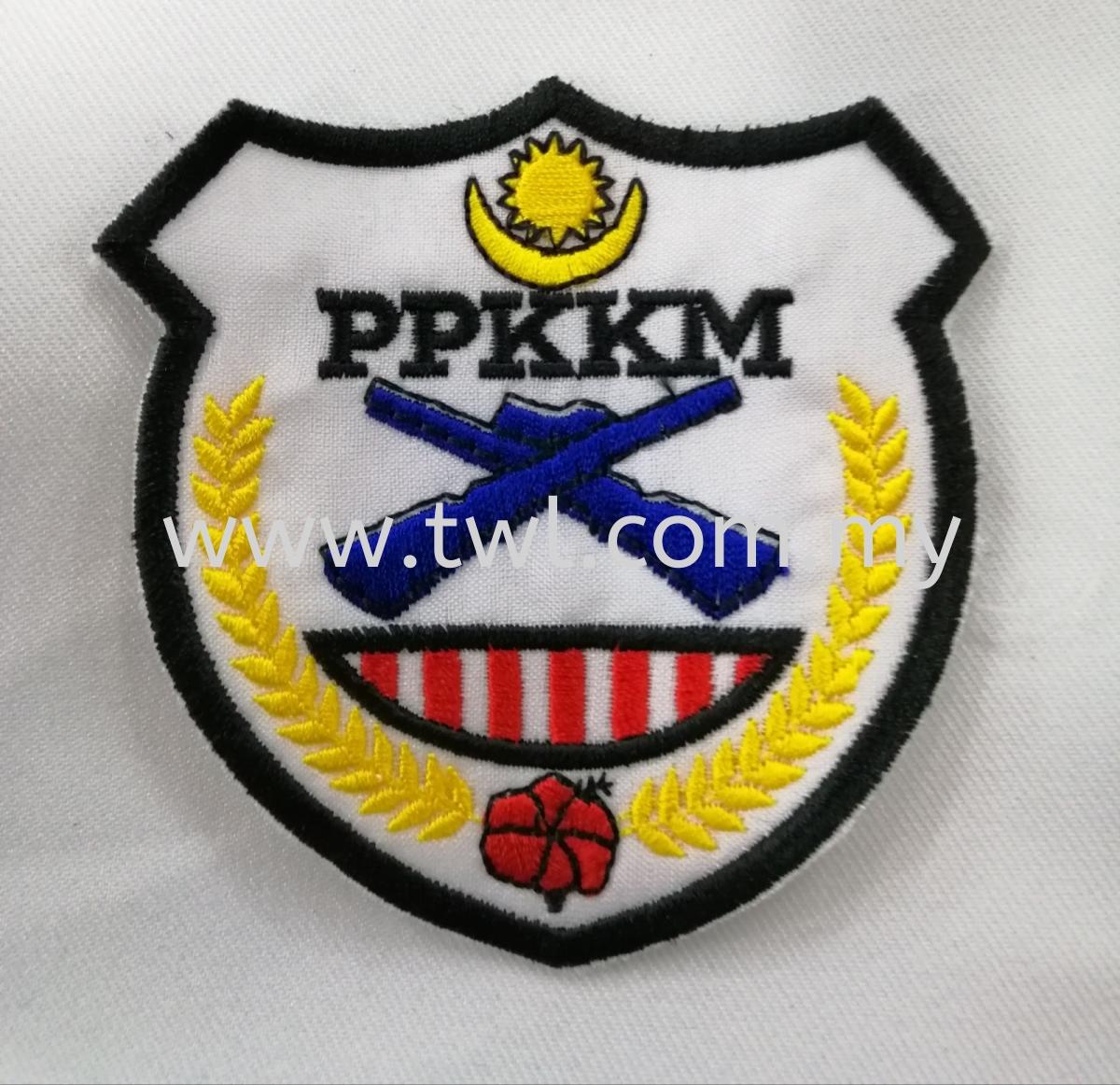 PPKKM Badges