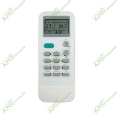 HAC-24VQP HISENSE AIR CONDITIONING REMOTE CONTROL