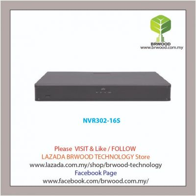 Uniview NVR302-16S: 16 Channel 2 HDD NVR