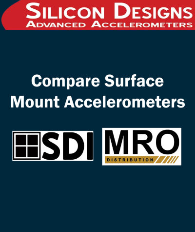 Compare Surface Mount Accelerometers