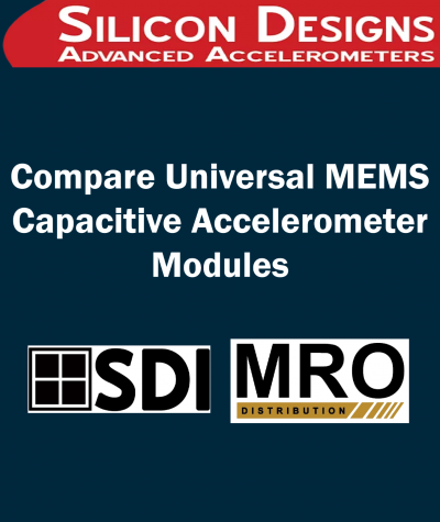 Compare Universal MEMS Capacitive Accelerometer Modules