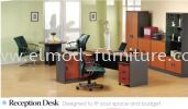 Receptionist Desk A Series  Office Table