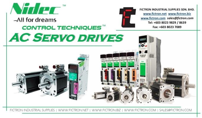 M753-02400060A10 M75302400060A10 480VAC 2.2kW NIDEC CONTROL TECHNIQUE DIGITAX HD Servo Drive Supply & Repair Malaysia