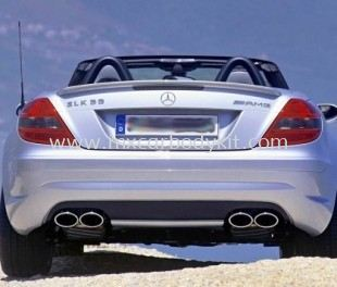 MERCEDES BENZ R171 AMG REAR BUMPER