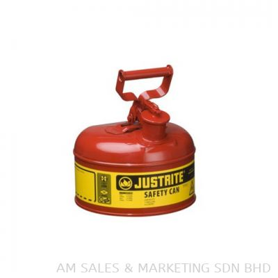 Justrite 1 Gallon Safety Can Red (7110100)