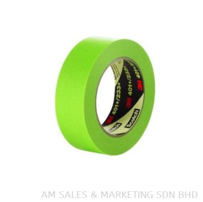 3M™ High Performance Green Masking Tape 401+ 24mm x 55m (TPINDMM1100040)