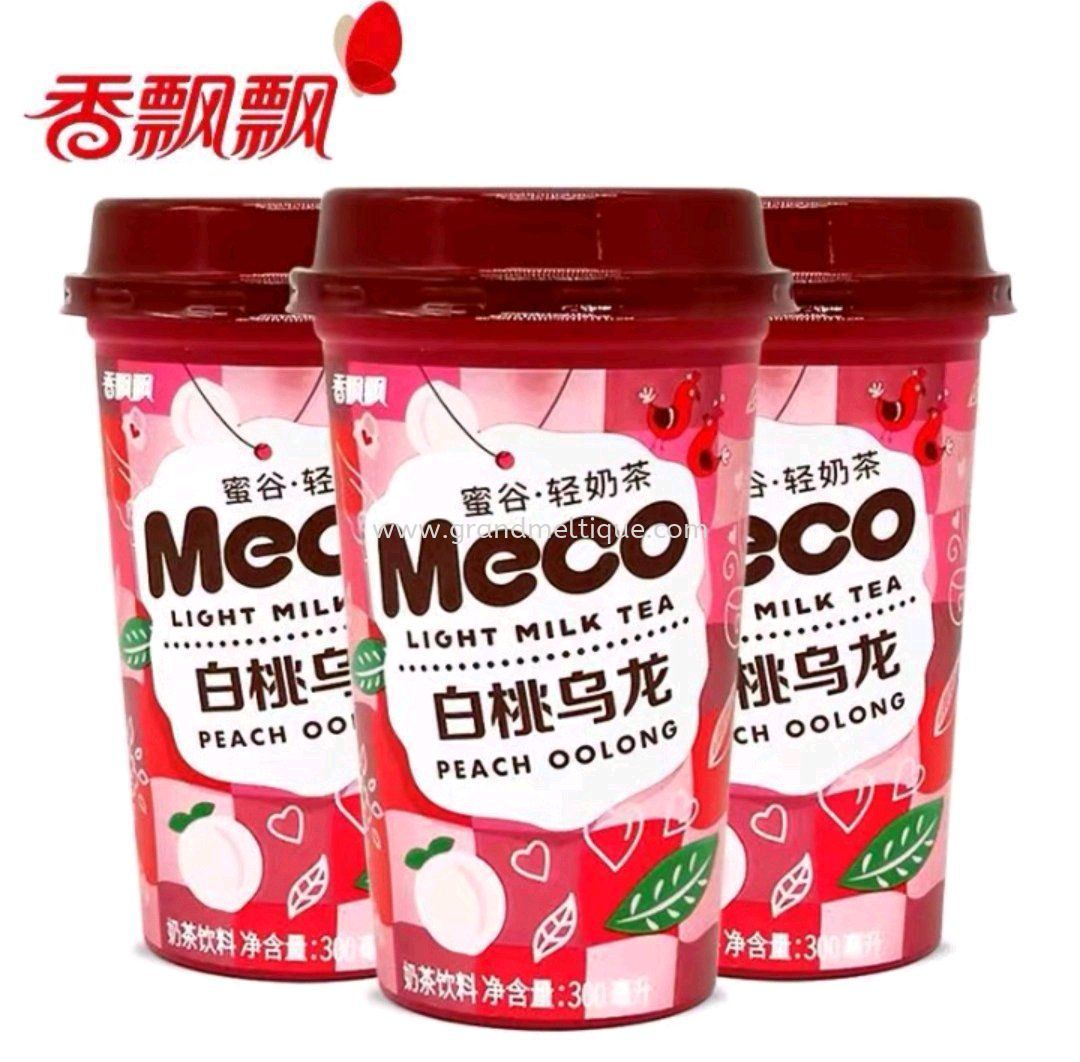 MECO PEACH OOLONG LIGHT MILK TEA