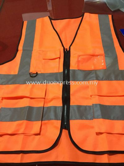 Safety Vest c/w Reflector Printing