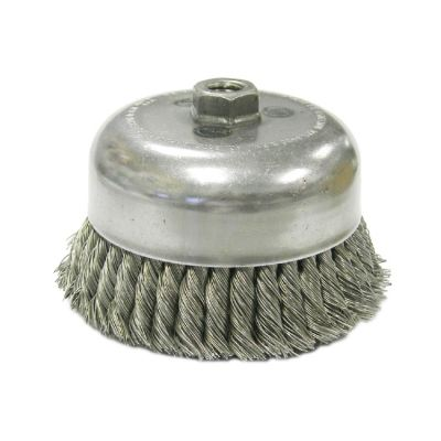 """MK-WEL-13010 3"""" STAINLESS STEEL TWISTED WIRE CUP BRUSH"""