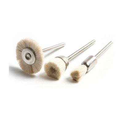 MK-WEL-13014 MINI NYLON WIRE CUP BRUSH WITH SHANK