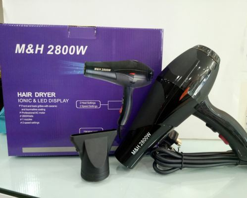 M&H HAIR DRYER IONIC  2800W