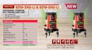 Devon Professional Li-Ion Self Leveling Laser Level 20M 3line 9319-3XG-Li / 5line 9319-5XG-Li Devon Power Tools