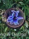 Moonlight Witch Logo in 360 LED neon Neon Light