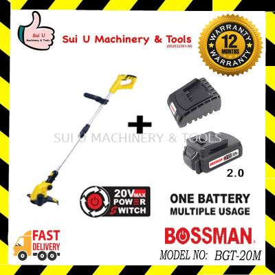 Bossman BGT-20M Cordless Grass Trimmer+ 1 Charger + 1pc Battery 2.0Ah