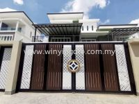 FULLY ALUMINIUM DESIGN FOLDING GATE