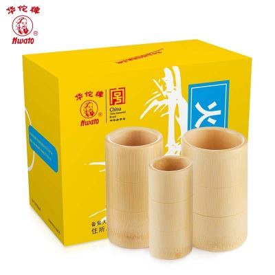 3'pcs/Set Bamboo Cupping Cup Set ��Ͳ�ι���װ 3��װ