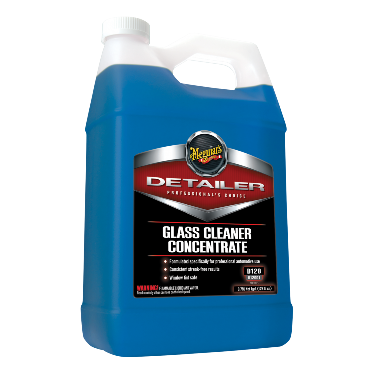 Meguiars Glass Cleaner Concentrate, D12001, 1 Gallon