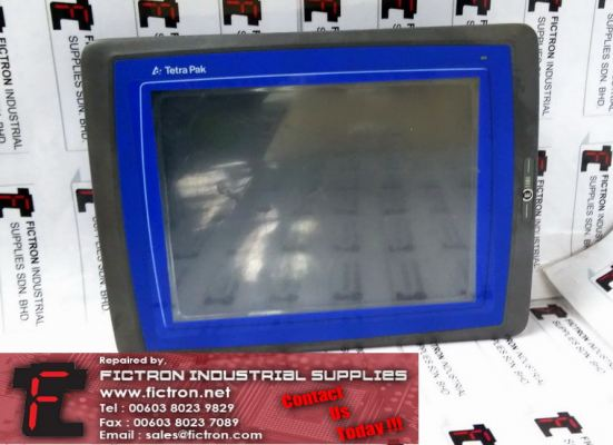 E1101 TETRA PAK HMI Touch Screen Display Supply Repair Malaysia Singapore Indonesia USA Thailand Australia