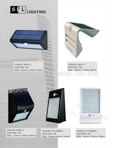 SFL Solar 01-3 01-1 01-2 MBD05 MBD01
