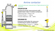 Application on Amine Contactor