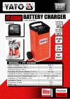 Poland Yato YT-83060 Car Battery Charger( With Starter)   Battery Charger & Accessories Electrical