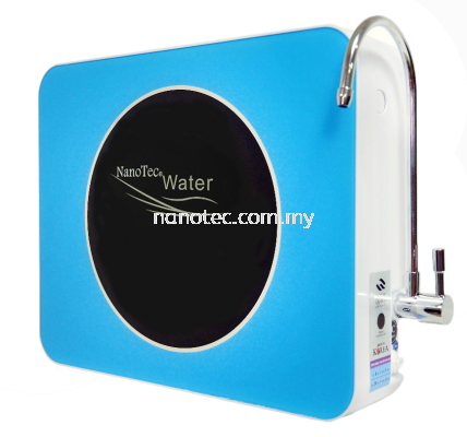 NanoTec Alkaline Water Converter / Alkaline 5 Stage Water Filtration System 304 with Faucet