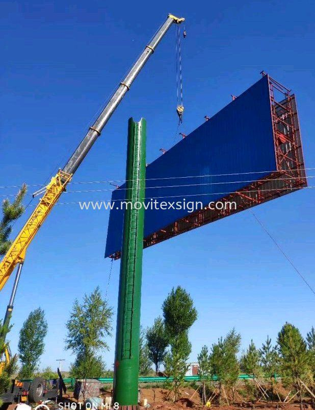 buildup structures for billboards outdoor n Led Screen systems