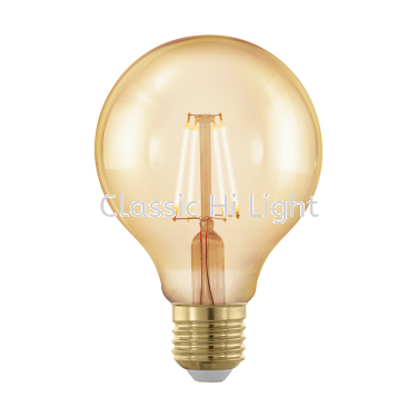 Eglo 11692 Led Filament Bulb G80 Shape 4W E27 1700K