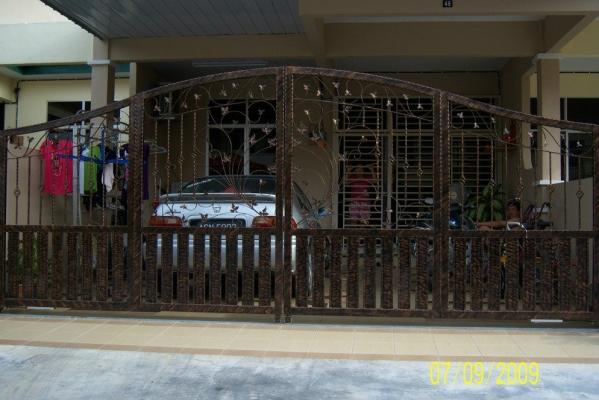 Malaysia Wrought Gate Design Sample