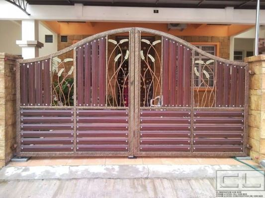 Wrought Iron Gate Design Samples
