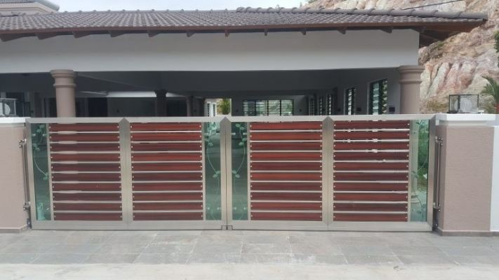 Suitable Malaysia Mix-Material Gate Design