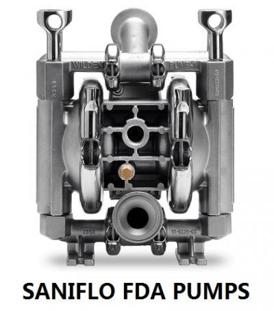 SANIFLO FDA PUMPS