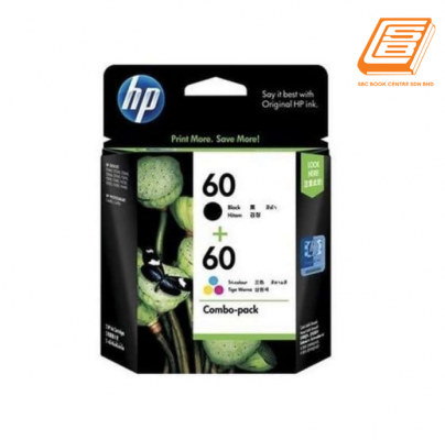 HP - Combo-Pack 60 Black + 60 Tri-Colour Ink Cartridge (Original)