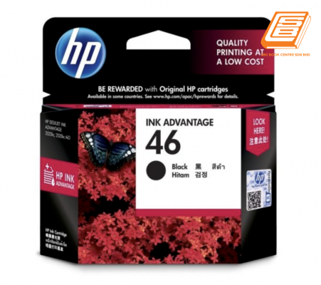 HP - 46 Black Ink Cartridge (Original)