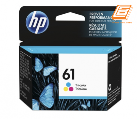 HP - 61 Tri-Colour Ink Cartridge (Original)