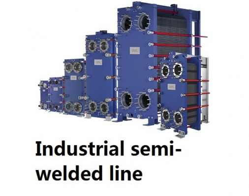 Industrial semi-welded line