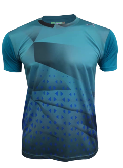 ATTOP JERSEY AJC1831 TURQUOISE BLUE