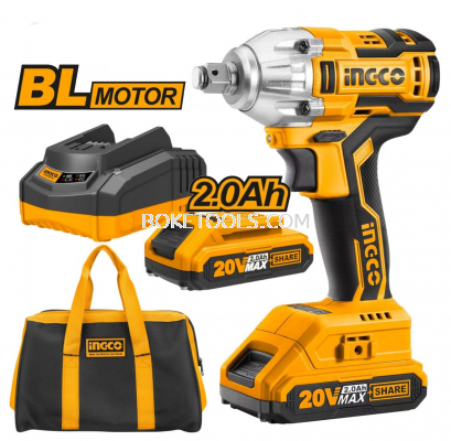 (AVAILABLE IN PIONEER BRANCH) INGCO CIWLI2001 Lithium-Ion Impact Wrench